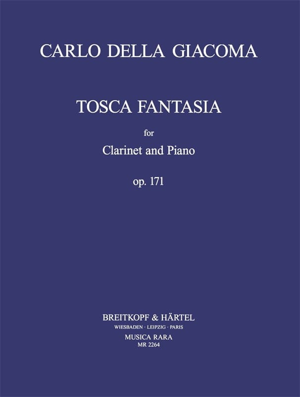 Tosca Fantasia Op.171 - Carlo Della Giacoma - laflutedepan.com