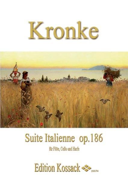 Suite Italienne Op.186 - Emil Kronke - Partition - laflutedepan.com