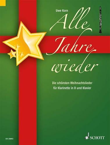 Alle Jahre Wieder - Uwe Korn - Partition - laflutedepan.com