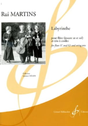 Labyrinthe - Rui Martins - Partition - Quatuors - laflutedepan.com