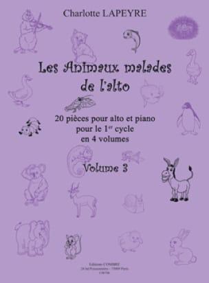 Charlotte Lapeyre - The Sick Animals of Viola Vol.3 - Partition - di-arezzo.co.uk
