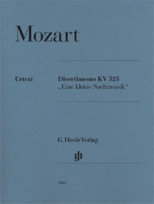 MOZART - Divertimento A Little Night Music K. 525 - Partition - di-arezzo.co.uk
