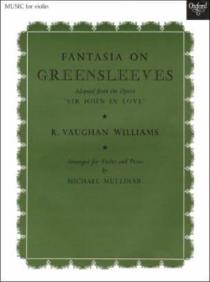Fantasia On Greensleeves - WILLIAMS VAUGHAN - laflutedepan.com