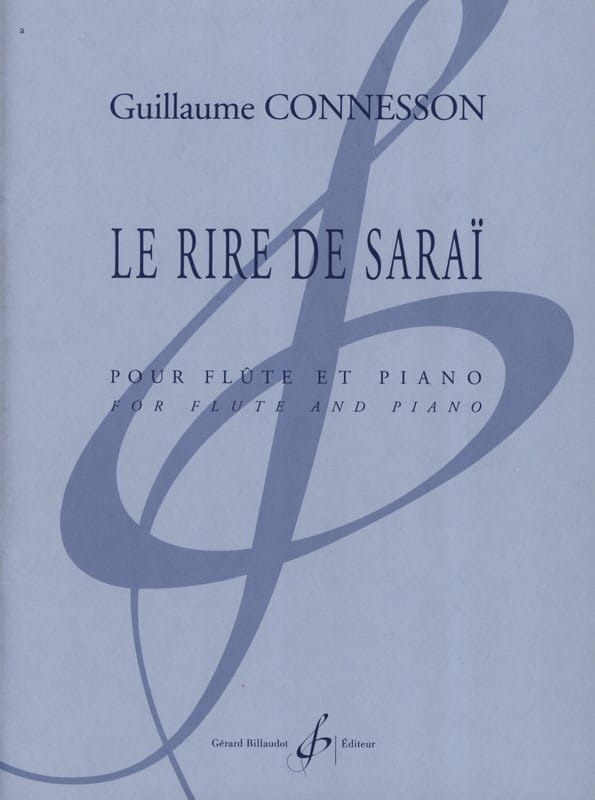 Le Rire de Saraï - CONNESSON - Partition - laflutedepan.com