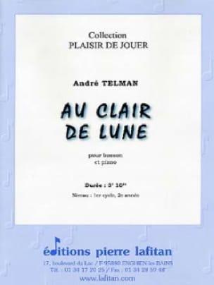 Au Clair de Lune - André Telman - Partition - laflutedepan.com