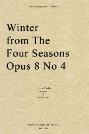 Les Saisons - Hiver Op.8 N°4 - VIVALDI - Partition - laflutedepan.com