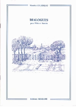 Dialogue - Maurice Journeau - Partition - Duos - laflutedepan.com
