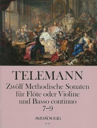 12 Methodische Sonaten Für Flöte Und Bc Band 3 - laflutedepan.com