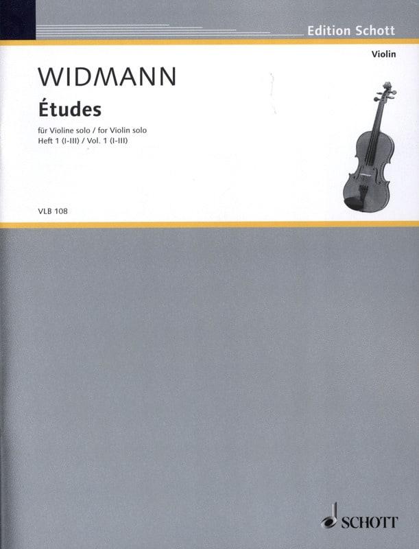 Etudes Volume 1 - 1-3 - Joerg Widmann - Partition - laflutedepan.com