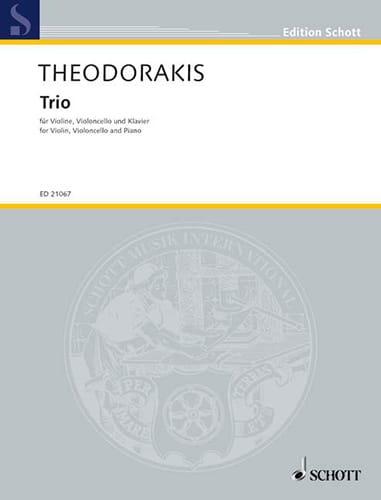 Trio 1947 - THEODORAKIS - Partition - Trios - laflutedepan.com