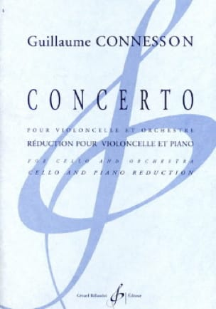 Concerto pour Violoncelle - CONNESSON - Partition - laflutedepan.com