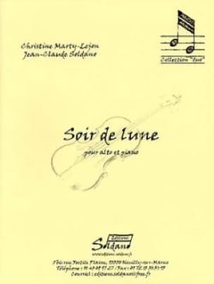 Soir de Lune - Christine Marty-Lejon - Partition - laflutedepan.com