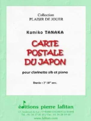 Carte Postale du Japon - Clarinette et piano - laflutedepan.com