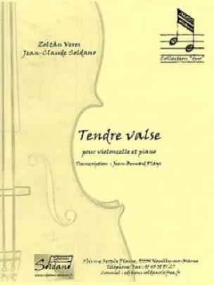Tendre Valse - Veres Zoltan / Soldano Jean-Claude - laflutedepan.com