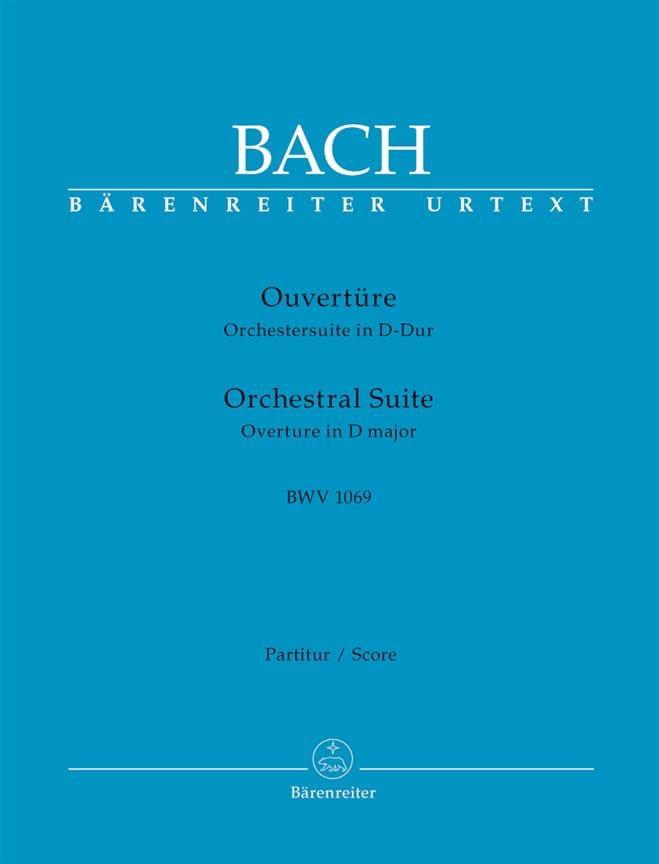 Orchestral Suite Ouverture BWV 1069 - BACH - laflutedepan.com