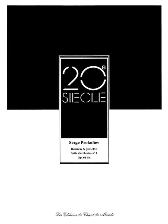 Serge Prokofiev - Romeo y Julieta - Orchestra Suite N ° 1 Opus 64bis - Partition - di-arezzo.es