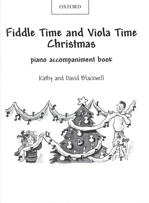 Fiddle Time And Viola Time Christmas - Piano Accompaniment - laflutedepan.com