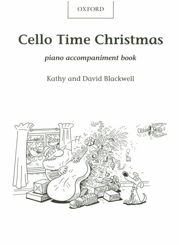 Cello Time Christmas - Piano Accompaniment - laflutedepan.com