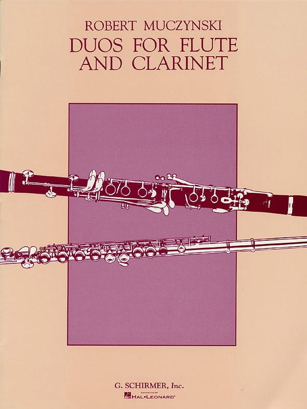 Duos for Flute and Clarinet, Op. 24 - laflutedepan.com