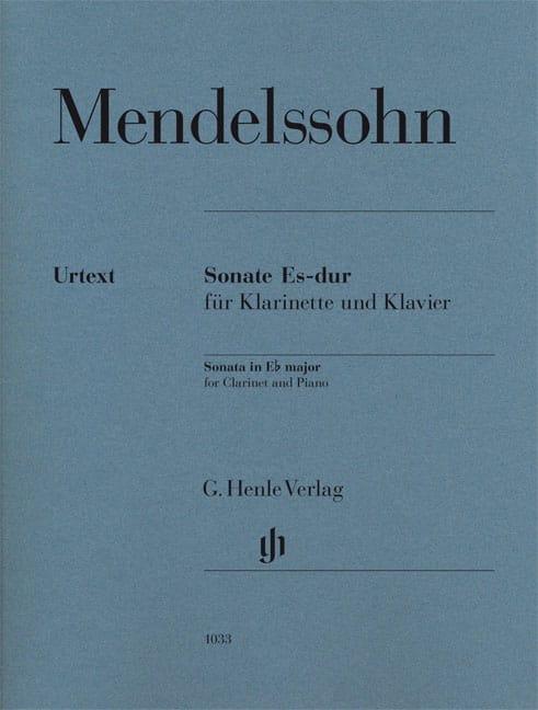 Sonate pour clarinette en Mi bémol majeur - laflutedepan.be