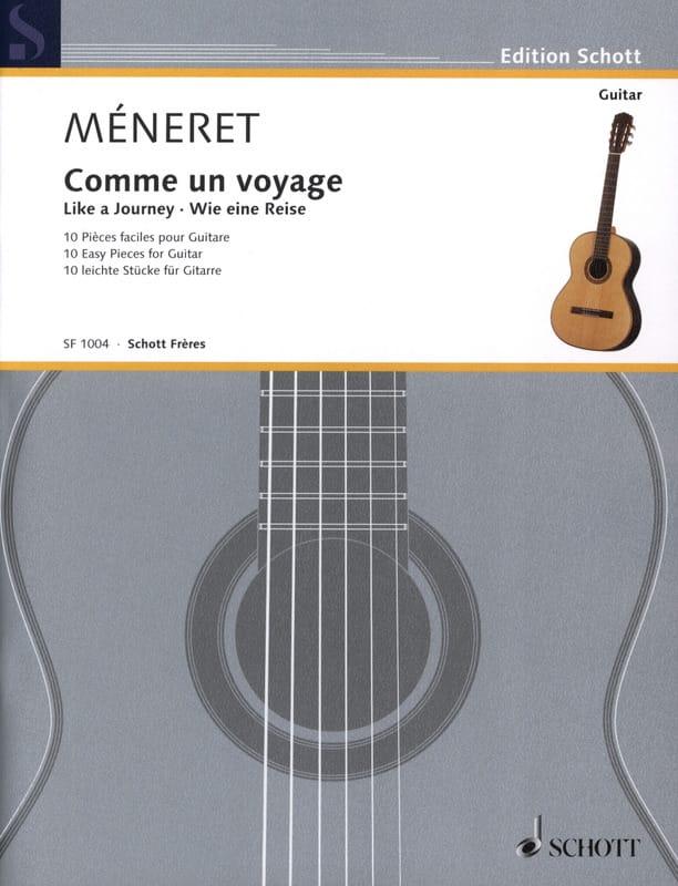 Comme un Voyage - Laurent Méneret - Partition - laflutedepan.com