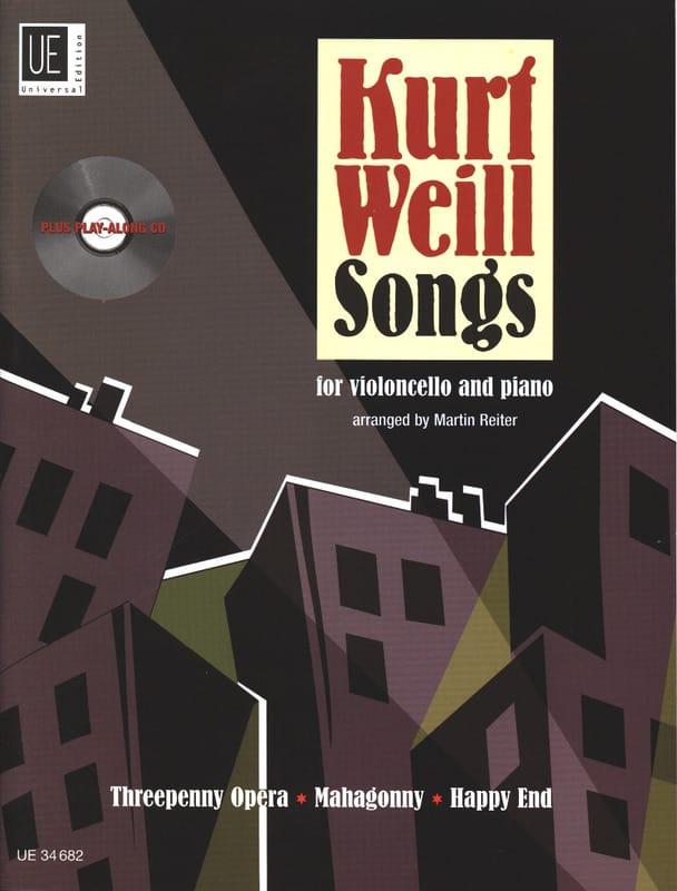 Kurt Weill Songs For Cello & Piano - WEILL - laflutedepan.com