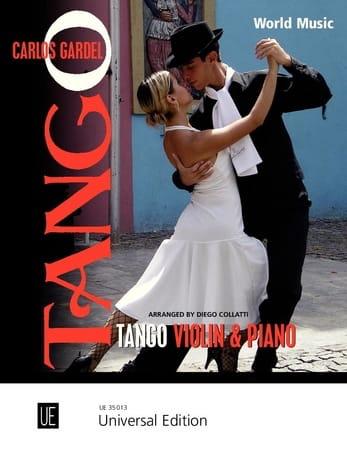 Carlos Gardel - Tango For Violin - Piano - Partition - di-arezzo.co.uk