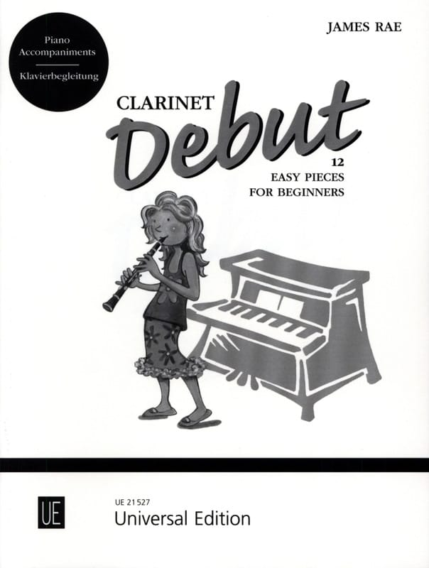 Clarinet Debut - Accompagnement Piano - James Rae - laflutedepan.com