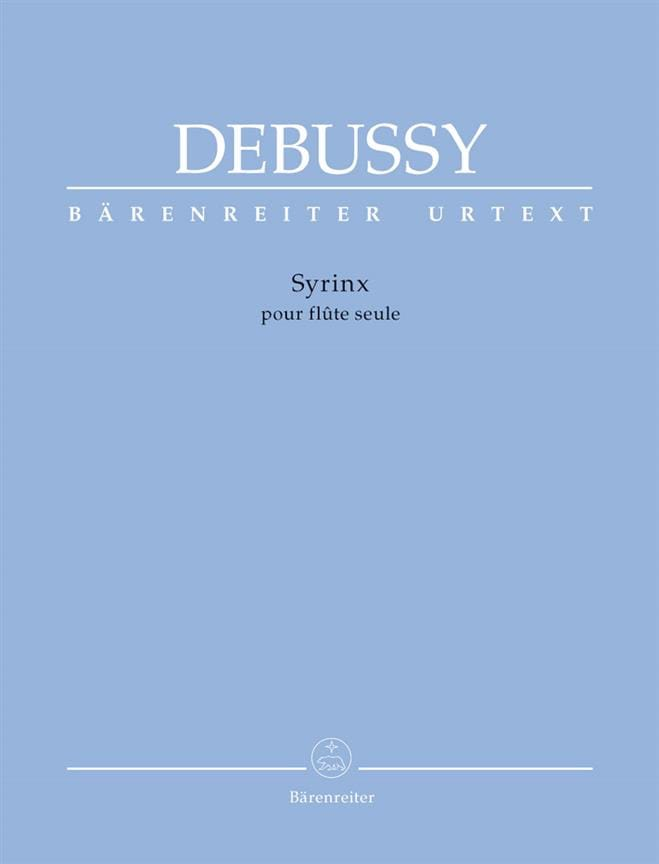 DEBUSSY - Syrinx - Partition - di-arezzo.co.uk