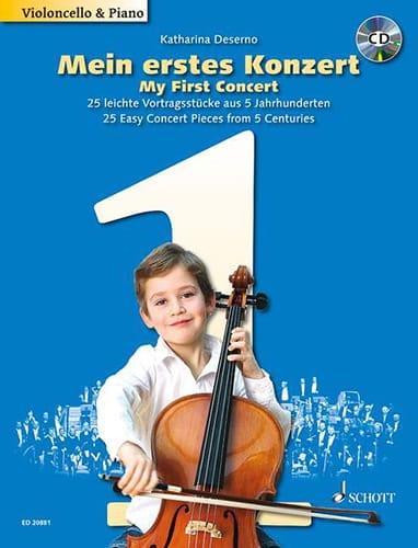 Mein Erstes Konzert - Katharina Deserno - laflutedepan.com