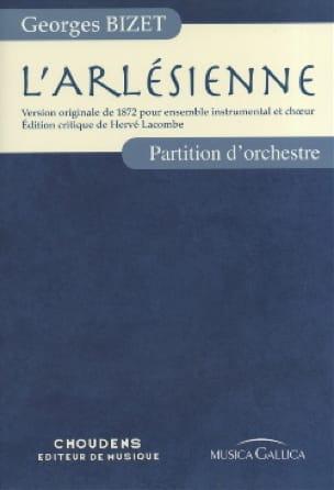 L' Arlésienne - Full Score - BIZET - Partition - laflutedepan.com