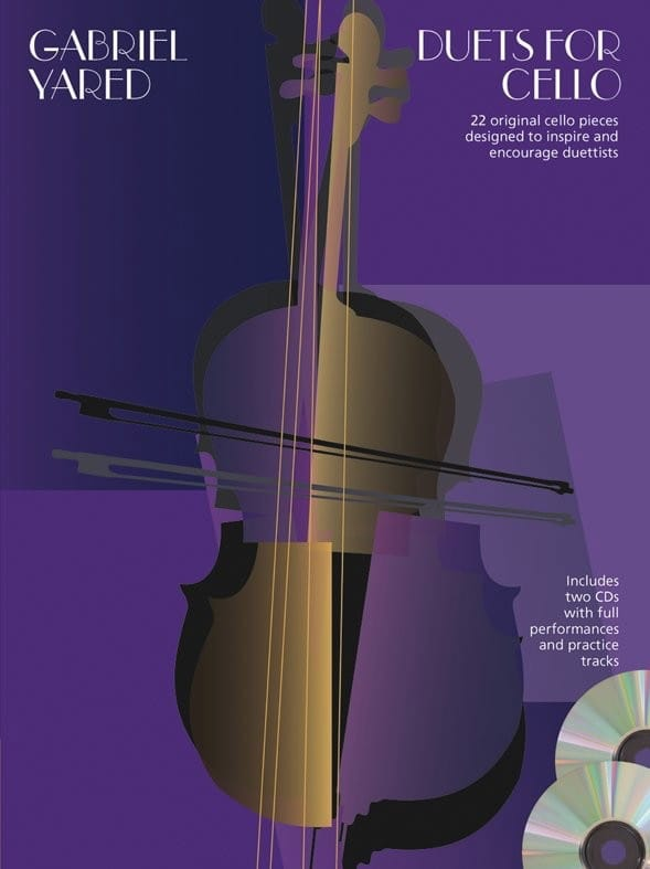 Duets For Cello + 2 CD - Gabriel Yared - Partition - laflutedepan.com