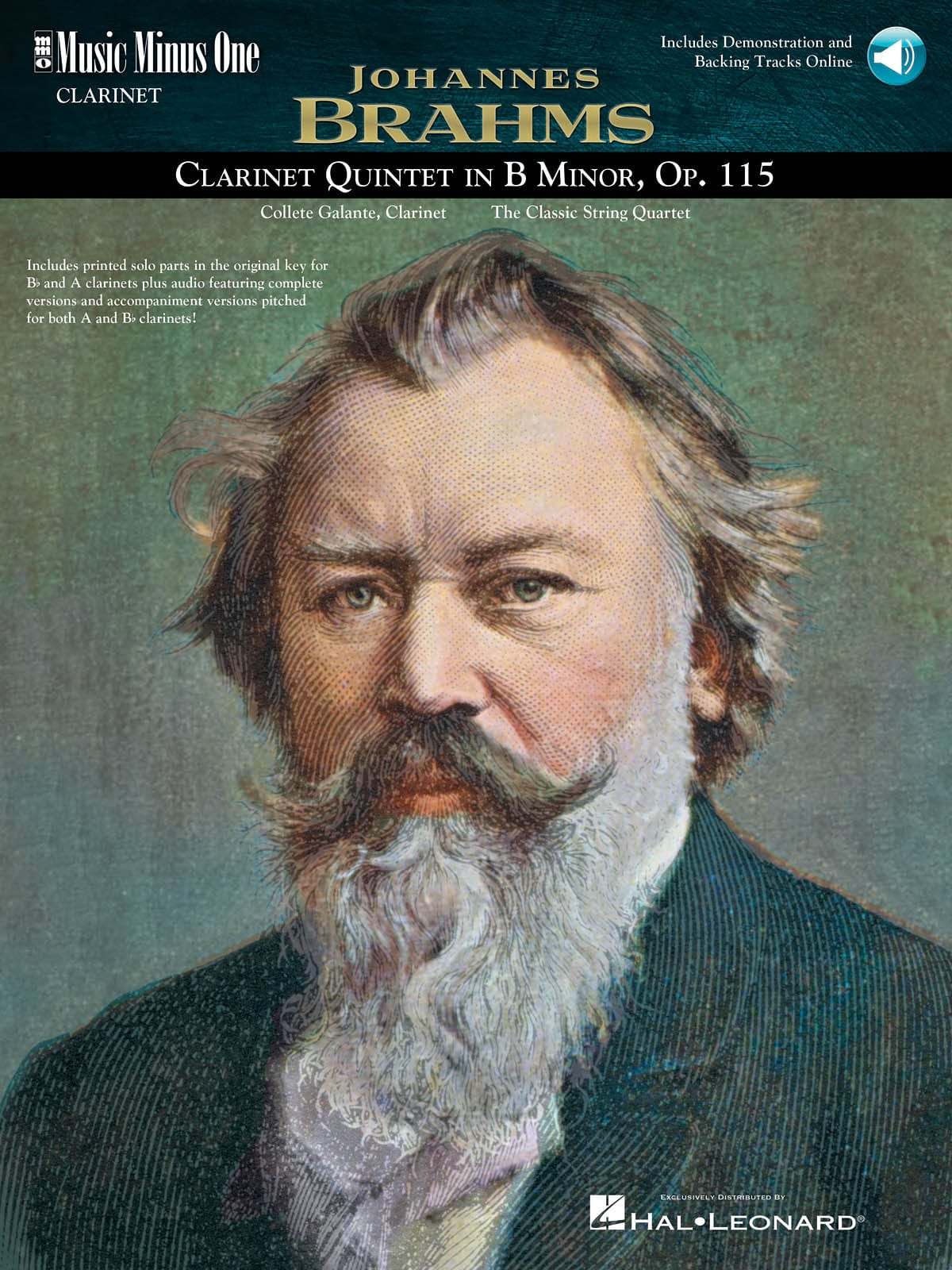 Clarinet Quintet en Si Mineur Opus 115 - BRAHMS - laflutedepan.com