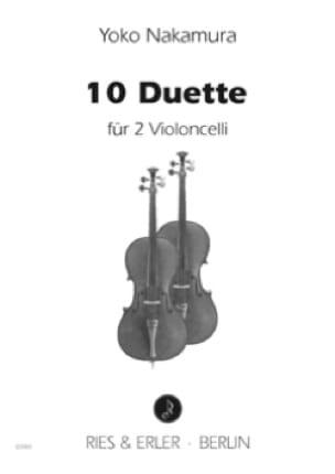 10 Duette 2007 - Yoko Nakamura - Partition - laflutedepan.com