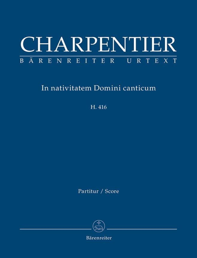 In Nativitatem Domini Canticum H 416 - laflutedepan.com