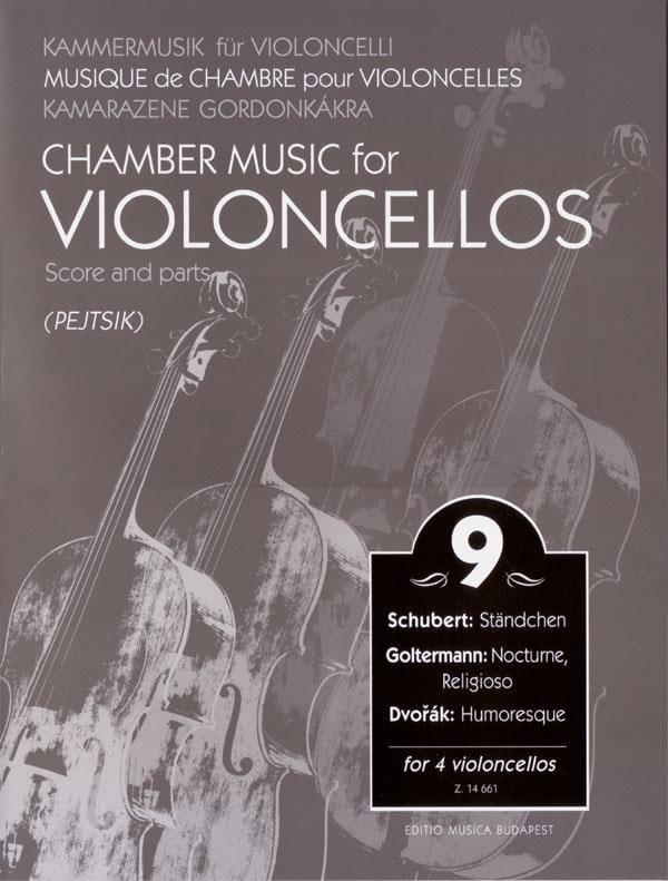 Arpad Pejtsik - Chamber Music For Violoncellos - Volume 9 - Score Parts - Partition - di-arezzo.com