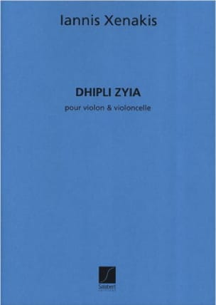 Dhipli Zyia - XENAKIS - Partition - 0 - laflutedepan.com