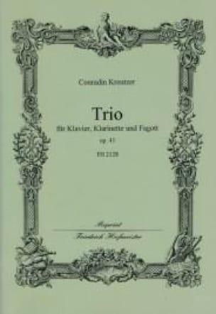 Trio Op. 43 - Conradin Kreutzer - Partition - Trios - laflutedepan.com