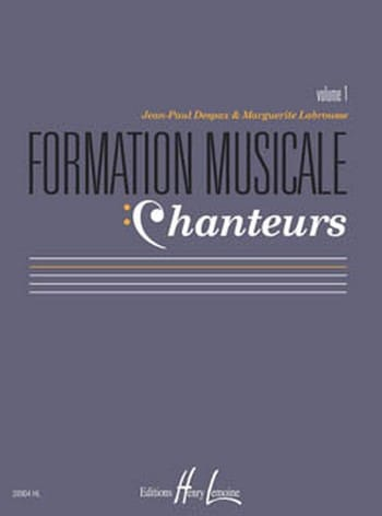 Marguerite LABROUSSE et Jean-Paul DESPAX - Musical Training Singers - Volume 1 - Partition - di-arezzo.com