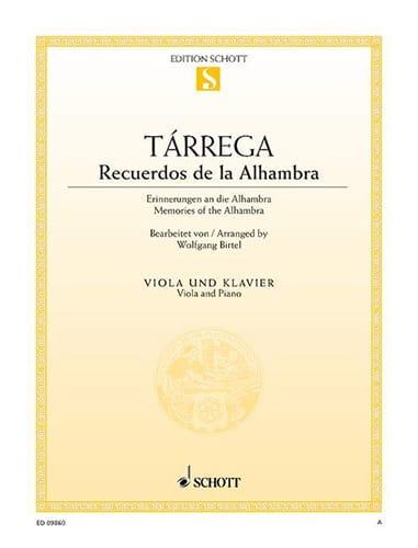 Recuerdos de la Alhambra - Francesco Tarrega - laflutedepan.com
