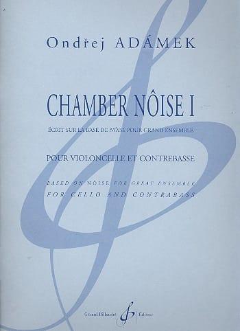 Chamber Noise 1 - Ondrej Adamek - Partition - 0 - laflutedepan.com