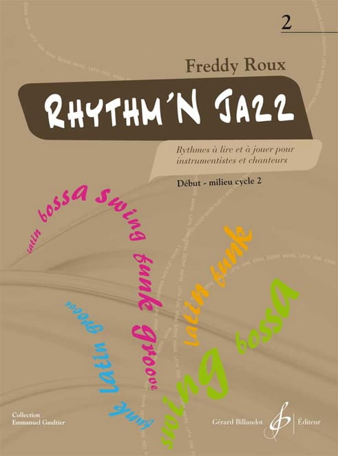 Freddy Roux - Rhythm'n Jazz Volume 2 - Partition - di-arezzo.co.uk