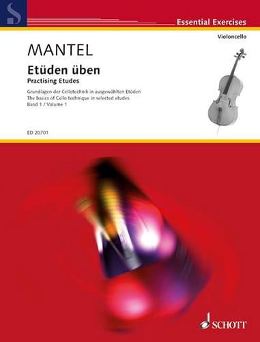 Etüden Uben Volume 1 - Gerhard Mantel - Partition - laflutedepan.com