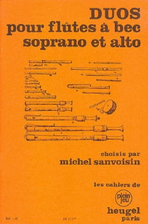 - Dúos para grabadores Soprano y Alto - Partition - di-arezzo.es