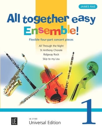 All Together Easy Ensemble! Volume 1 - James Rae - laflutedepan.com