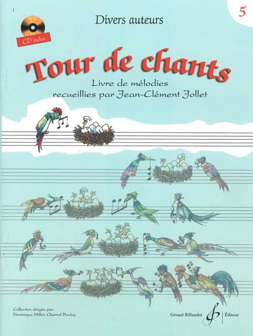 Jean-Clément Jollet - Tower of Songs Volume 5 - Partition - di-arezzo.co.uk