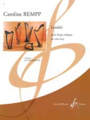 Loreleï - Caroline Rempp - Partition - Harpe - laflutedepan.com