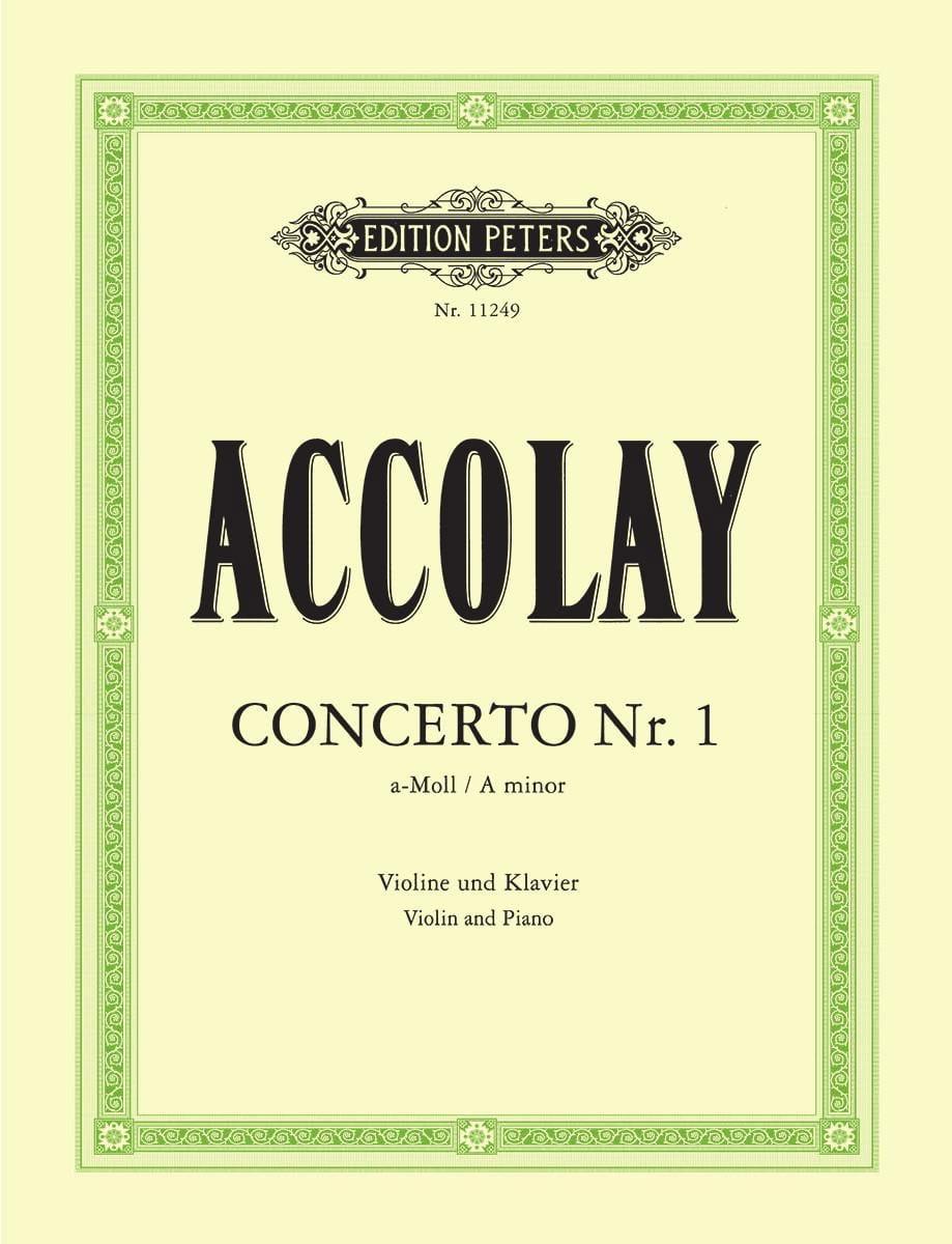 Concerto en la Mineur N°1 - Jean-Baptiste ACCOLAY - laflutedepan.com