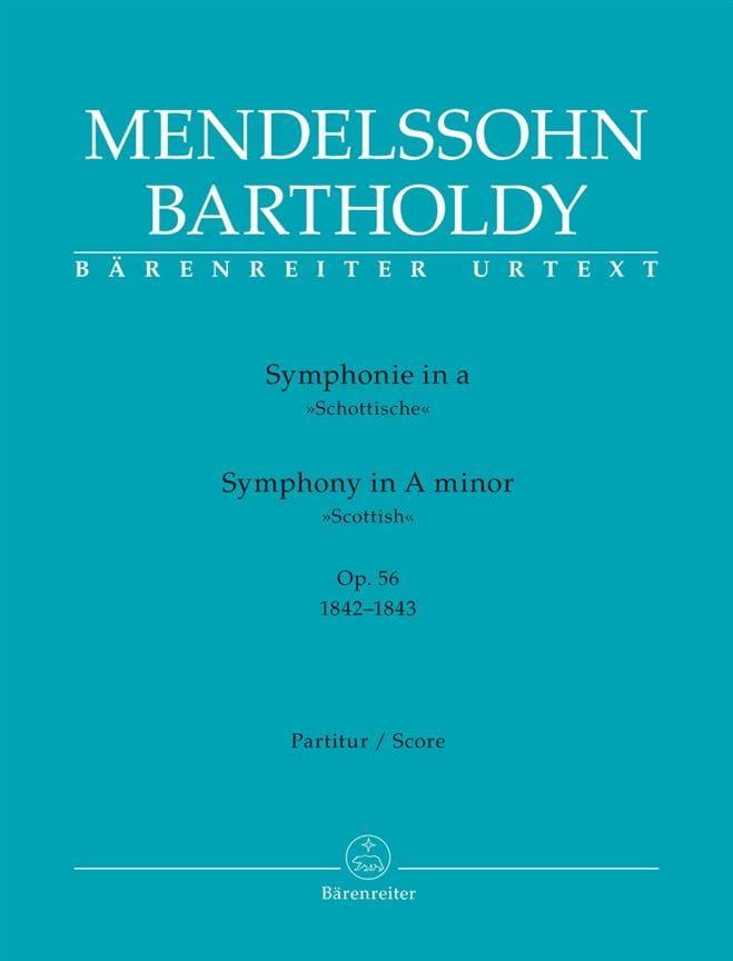 Symphonie N° 3 Ecossaise en la Mineur Op. 56 - laflutedepan.com