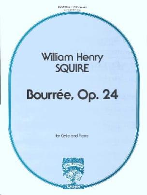 Squire W. H. - Bourrée, Opus 24 - Partition - di-arezzo.co.uk
